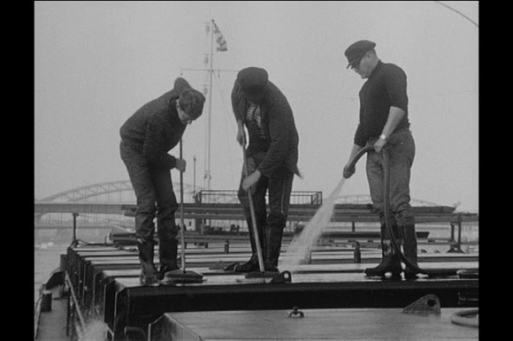 sailors doing cleaning jobs 1961