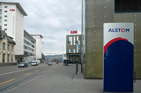 Buildings of ABB and Alstom