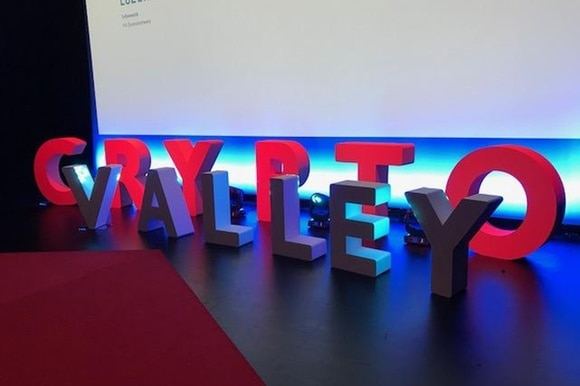 Crypto Valley sign