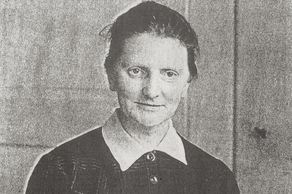 Photo of the first female pastor in Switzerland - Rosa Gutknecht