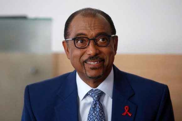UNAIDS chief Michel Sidibe
