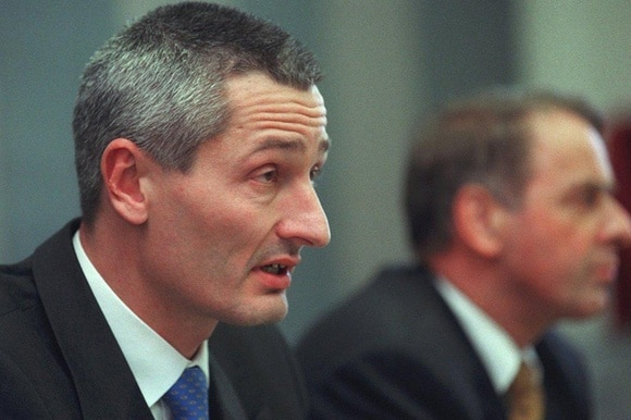 Jacques Pitteloud, archive picture from 2000