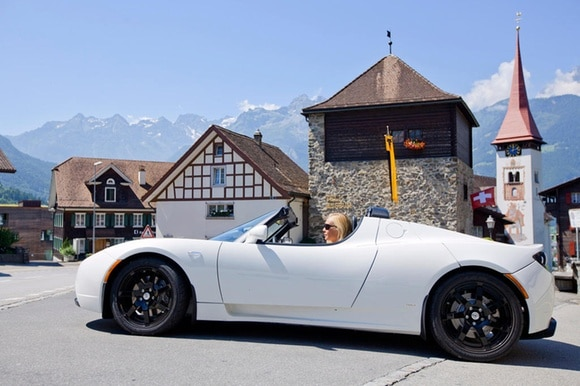 Tesla in Switzerland