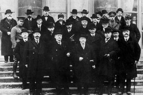 Members of the Commission on International Labour Legislation to the 1919 Paris Peace Conference