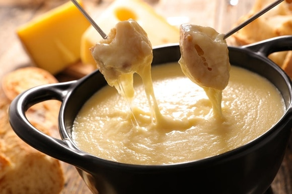 pot of fondue