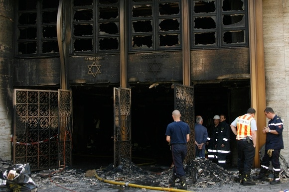Synagoguefollowing a fire