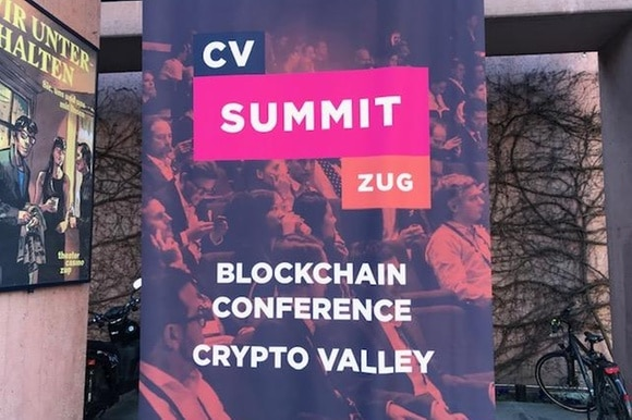 Poster depicting CV Summit