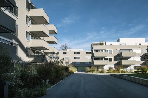 Housing development in Switzerland