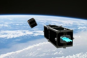 CleanSpace One Satellite developed by EPFL