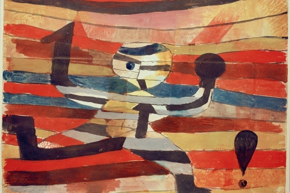 The Runner by Paul Klee