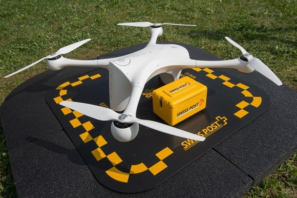 A Swiss Post drone