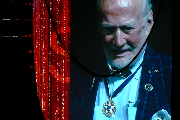 Buzz Aldrin at Starmus