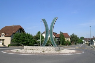 Roundabout «Encounter» in Bützberg BE