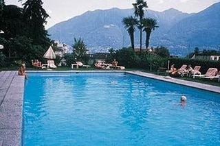 The swimming pool in the good old days