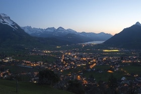 View of canton Schwyz