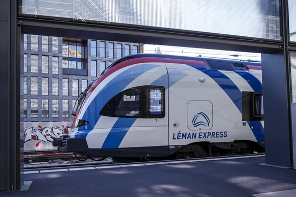 Léman Express train