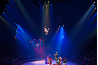 performance at circus knie