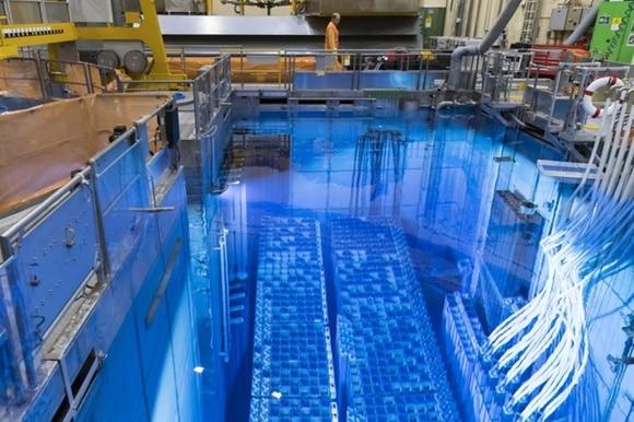 Coeur d un réacteur nucléaire