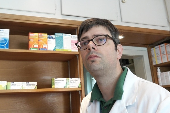 Pharmacist in his shop - Murifeld pharmacy