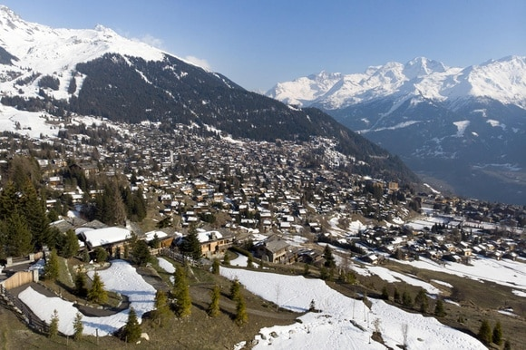 Mountain resort of Verbier
