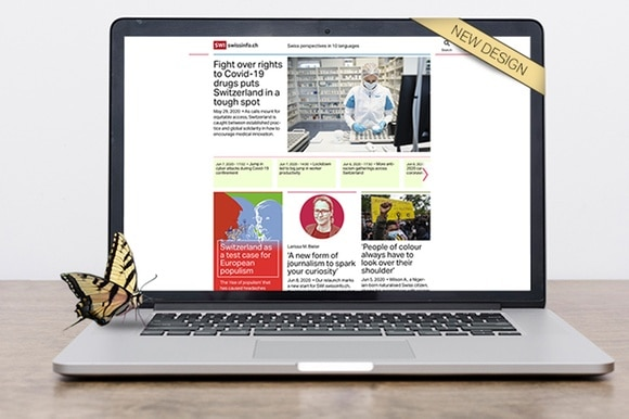 swissinfo.ch s new design unveiled