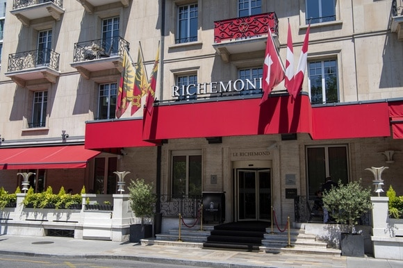 5-star Richemond hotel in Geneva