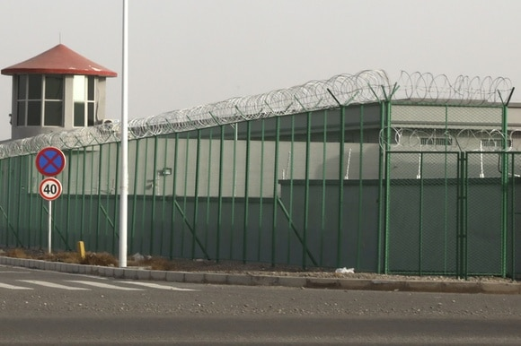 Uighur detention facility in China