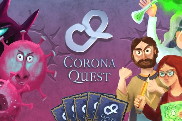 CoronaQuest game