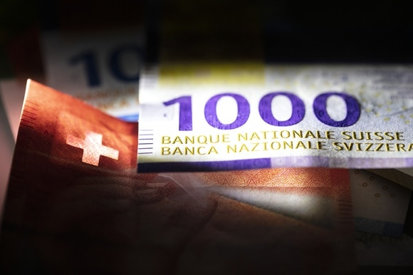 1,000-franc note