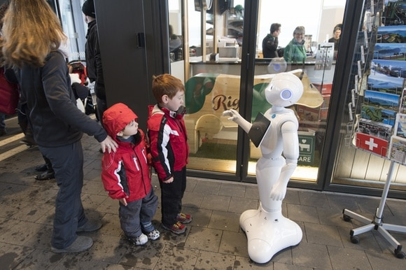 "The Japanese robot ""Pepper"