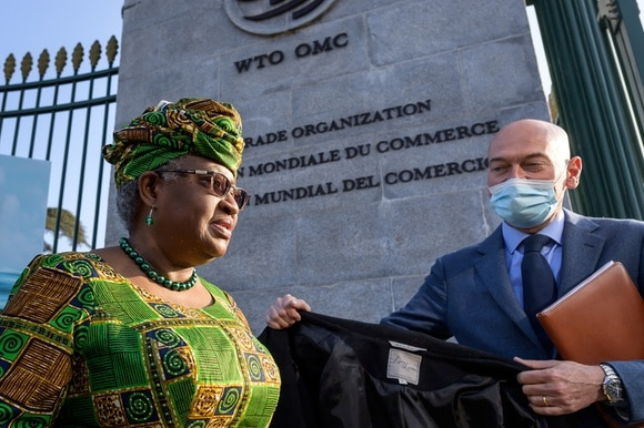Nigeria s Ngozi Okonjo-Iweala took over the reins of the Geneva-based WTO on March 1, 2021.