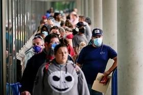 Desempleados en Estados Unidos