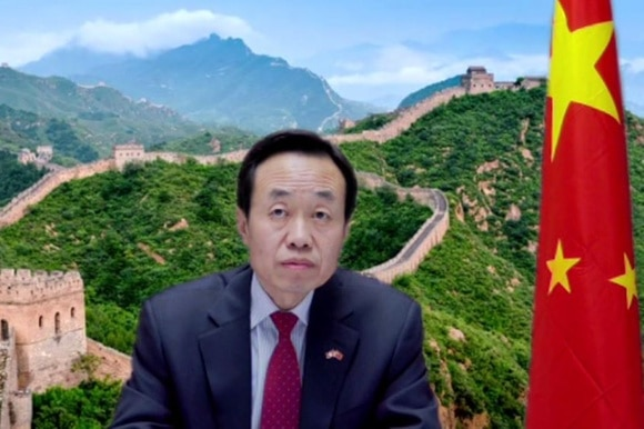 Chinese ambassador to Switzerland in video conference
