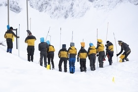 Avalanche rescuers