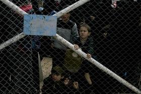 Children at Al Hol camp in Syria