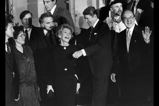 The Reagans and Kurt Furgler