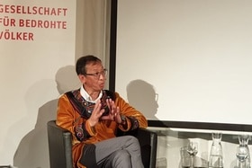 Rodion Sulyandziga, director of the independent CentreforSupport of Indigenous Peoples of the North.