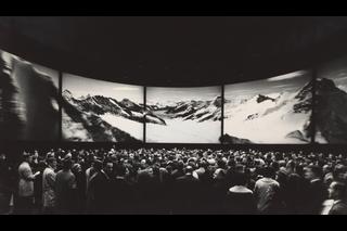 Круглый театр SBB Circarama на выставке Expo 64 в Лозанне