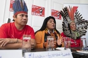 Delegados indígenas