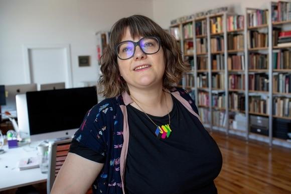 Portrait of Nina Stoessinger