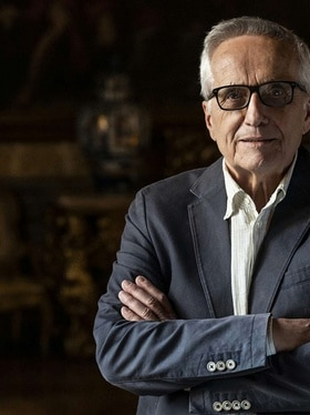 Portrait of director Marco Bellocchio