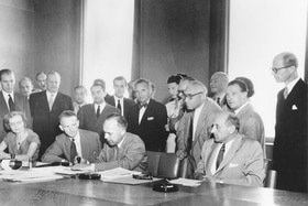 The UN Refugee Convention was signed in Geneva in 1951.