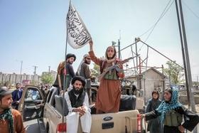 Taliban in den Strassen Kabuls