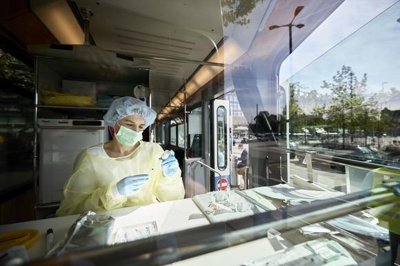 蘇黎世疫苗接種車
