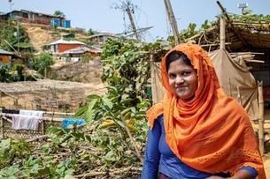 Rohingya-Flüchtlingslager: Mit Schweizer Hilfe Gemüse anbauen