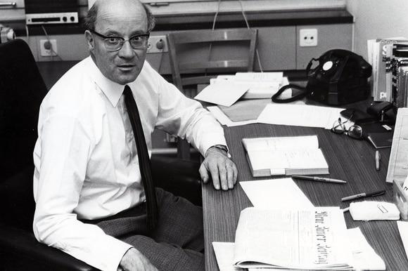 Rudolf Meyer, ehemaliger Chefredaktor des Schweizerischen Kurzwellendienstes in Bern
